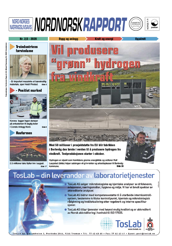 Nordnorsk Rapport august 2020