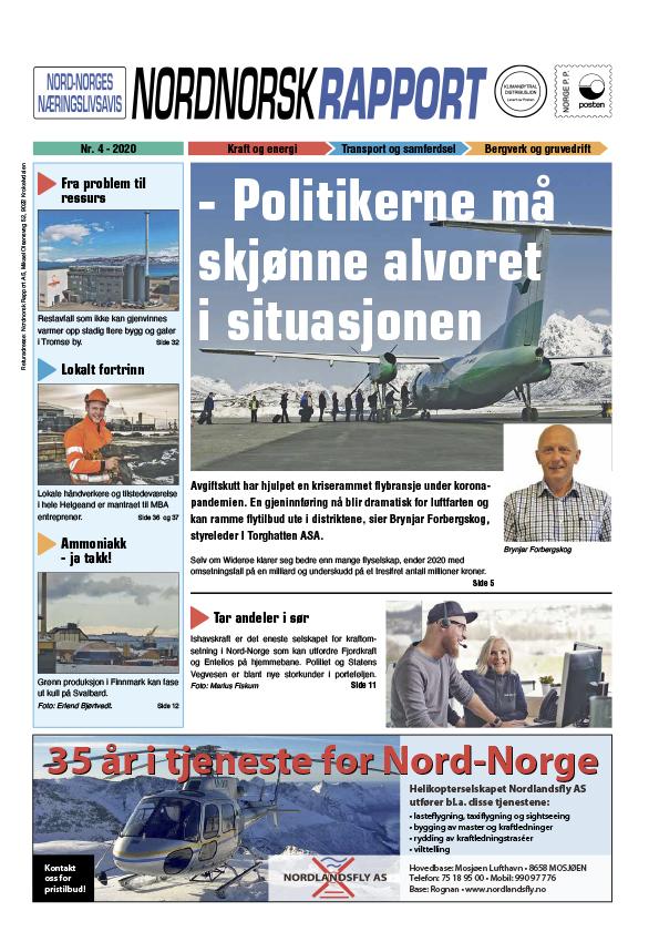 Nordnorsk Rapport oktober 2020